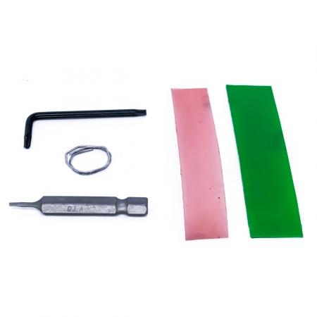 Kit 2 - Jumper e Proteção para Cabeçotes HP Série PRO (Chave T6 + T10 + 2 Adesivos + Estanho)