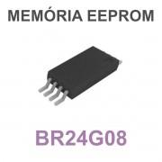 MEMÓRIA EEPROM BR24G08 BR24G08FVT G08 TSSOP-8 - PEÇA VIRGEM
