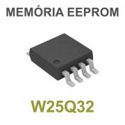 MEMÓRIA EEPROM W25Q32 W25Q32B W25Q32BVSIG 25Q32BVSIG 32M-BIT - PEÇA VIRGEM