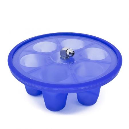 Molde / Manta de Silicone para Sublimação 3D - Modelo: SHOT Copinhos de Dose 90ml