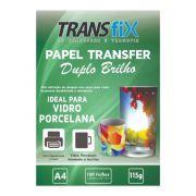 Papel Transfer Laser Duplo Brilho 115g - A4 100fls