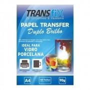 Papel Transfer Laser Duplo Brilho 90g - A4 100fls