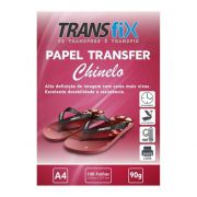 Papel Transfer Laser para Chinelo (Rosa) 90g - A4 100fls