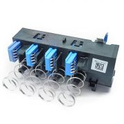 Placa com Contatos + Suporte Plástico do Cabeçote da Plotter HP T120, T130, T520 e T530