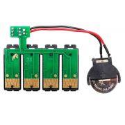 Placa Reset Chip Full para Bulk Ink EPSON (1291R) - Botão Reset (Com Bateria)