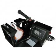 Prensa Térmica para Canecas Cilíndrica e Squeeze - Modelo: NEW BLACK