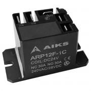 RELÉ AIKS ARP12F-1C - 30A - COIL: DC24V | 240VAC/28VDC