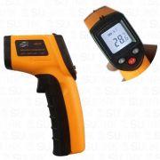 Termometro Medidor Temperatura Digital Infravermelho Mira Laser (-50 à 400ºC)
