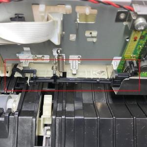 Atuador para o Sensor do Papel da Impressora Epson A4 - Modelo 1   Partnumber: Peça 501