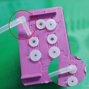 Bico L Conector para Instalação de Bulk Ink e Cartuchos