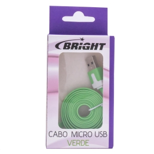 Cabo Micro USB Verde