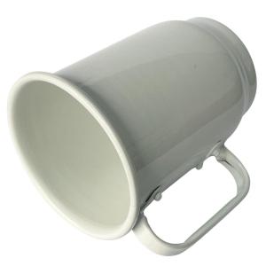 Caneca de Chopp de Alumínio Branca para Sublimação   Capacidade: 500ml