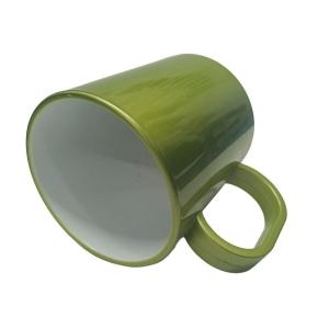 Caneca de Plástico Polímero para Sublimação Linha Color | Ouro