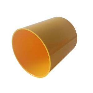 Copo de Plástico Polímero 325ml para Sublimação | Amarelo