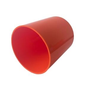 Copo de Plástico Polímero 325ml para Sublimação | Laranja