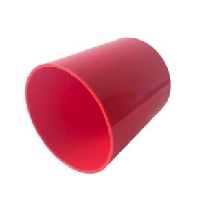 Copo de Plástico Polímero 325ml para Sublimação | Vermelho