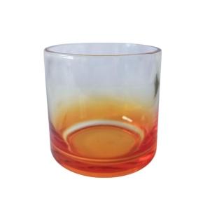 Copo de Whisky Vidro 250ml para Sublimação | Amarelo