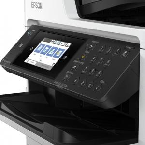 IMPRESSORA MULTIFUNCIONAL EPSON WORKFORCE PRO WF-C5710 (A4) COM BULK INK INSTALADO - TINTA PIGMENTADA PRECISION