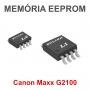 MEMÓRIA EEPROM GRAVADA FIRMWARE DA IMPRESSORA MULTIFUNCIONAL CANON MAXX G2100 (QM7-4570 - QM4-4438)