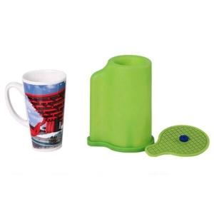 Molde / Manta de Silicone para Prensa Térmica Forno 3D | Modelo: Caneca Modelo 2 Vácuo