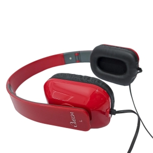 OMEGA IPHONE HEADSET - RED