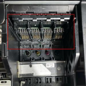 Placa + Suporte dos Contatos da Epson XP-201 XP-204 XP-211 XP-214