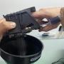 Seringa com Mangueira de Silicone Flexível (20ml) - Ideal para para Cabeçotes HP PRO e CANON MAXIFY