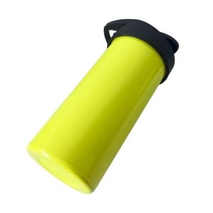 Squeeze de Plástico Polímero 500ml Colorido para Sublimação   Amarelo Neon