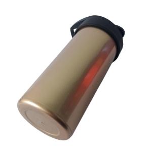 Squeeze de Plástico Polímero 500ml Colorido para Sublimação   Perolado Ouro