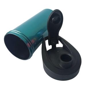 Squeeze de Plástico Polímero 500ml Colorido para Sublimação | Perolado Verde Metal
