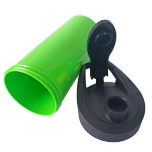 Squeeze de Plástico Polímero 500ml Colorido para Sublimação | Verde Neon