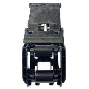 SUPORTE COM ROLETES DE PASSAGEM DE PAPEL DA IMPRESSORA PLOTTER HP T120 T130 T250 T520 T530 T650 T730 T830