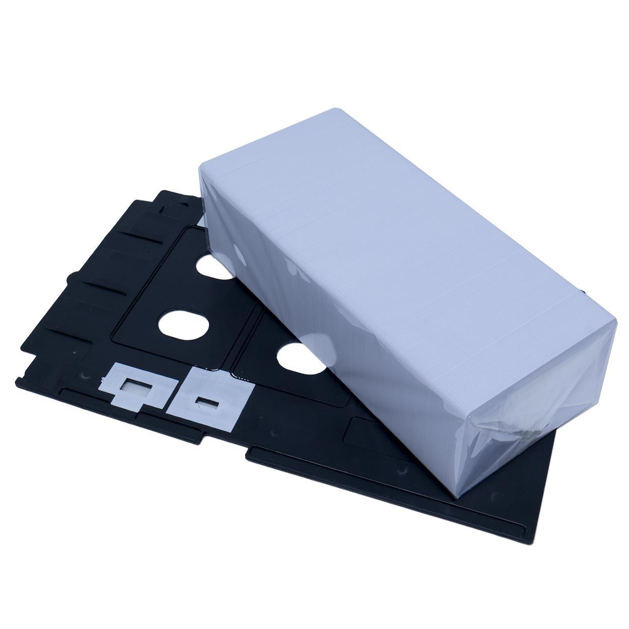 Bandeja para Cartão PVC + 230 Cartões PVC Branco