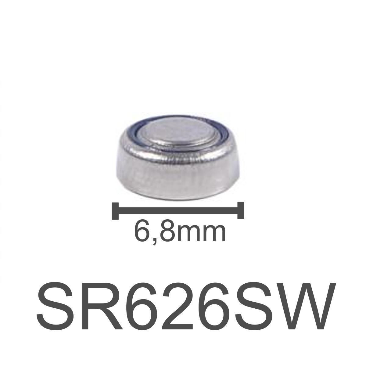 Bateria Alkaline SODA 1.55V - SR626SW