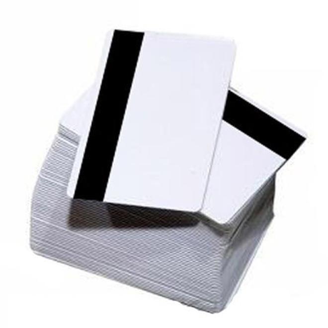 Cartão PVC Branco para Impressão Jato de Tinta - Com Tarja Magnética