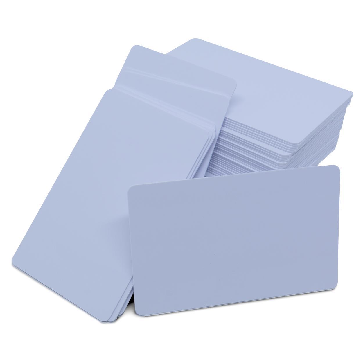 Cartão PVC Branco para Impressão Jato de Tinta - Sem Tarja - 100 Unidades