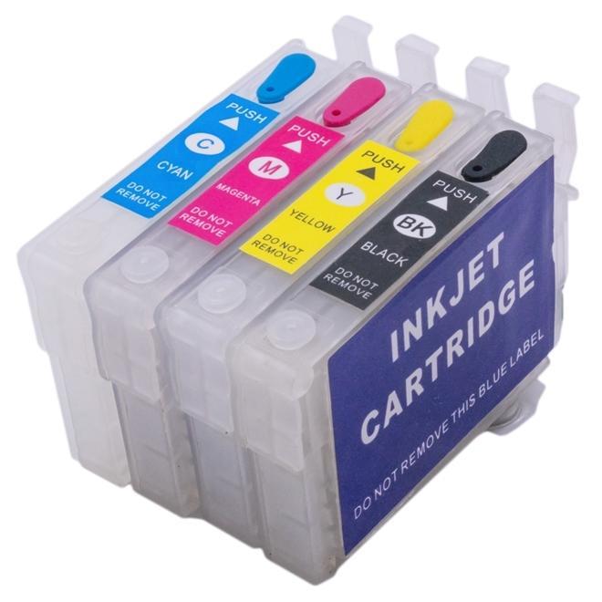 CARTUCHO RECARREGÁVEL PARA EPSON T25, TX123, TX125, TX133 e TX135 - SEM TINTA