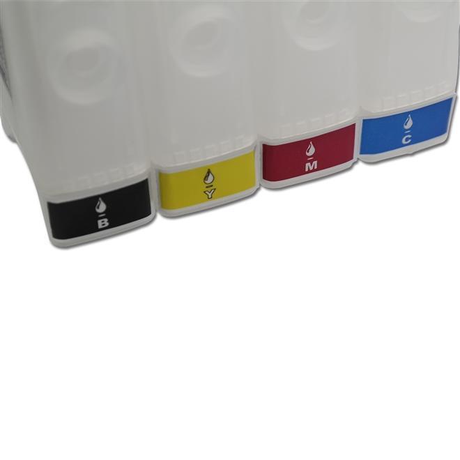 Etiqueta de Identifcação de Cores para Reservatório Bulk Ink - 4 Cores