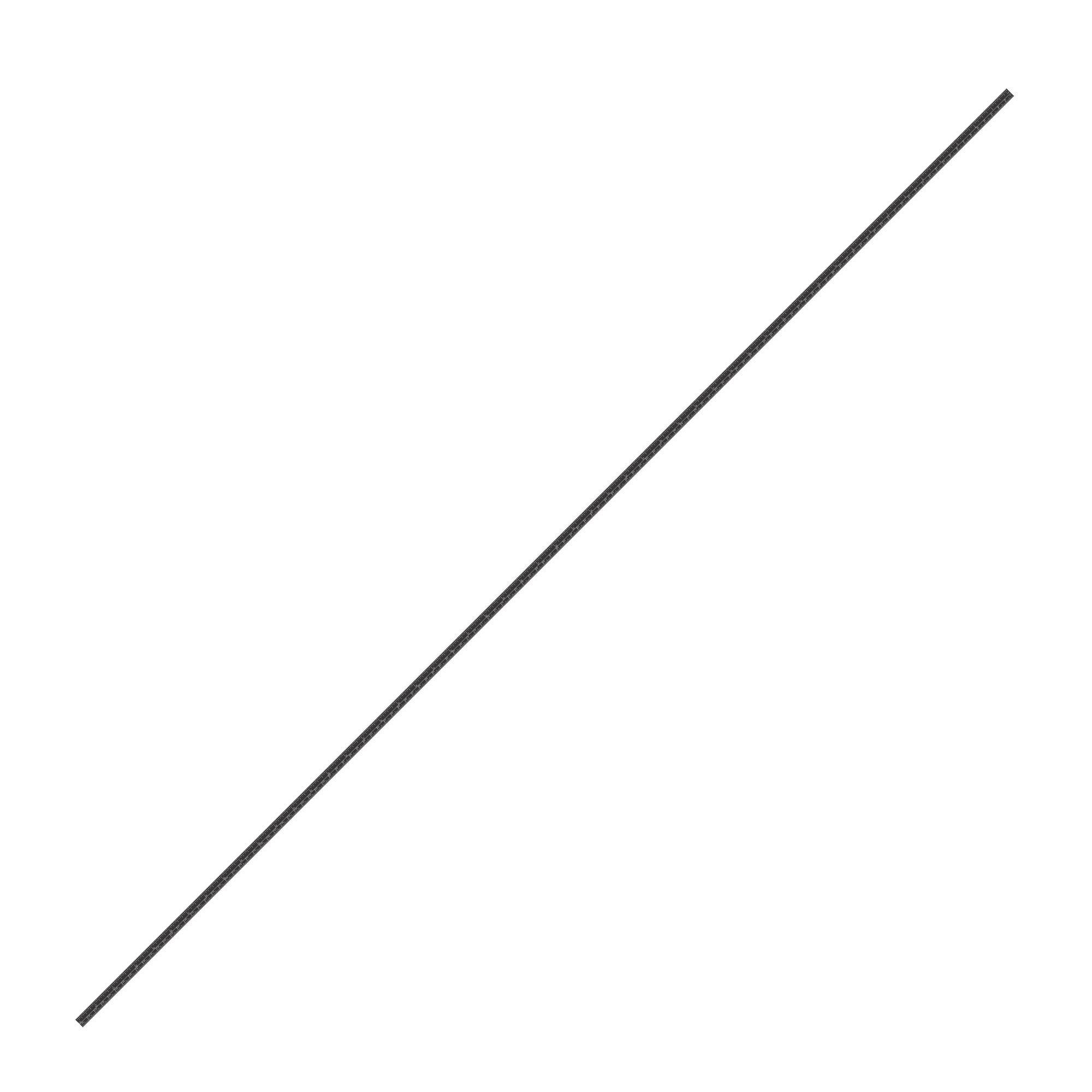 Fita Métrica Adesiva 135cm para Plotter de Recorte (Invertido - Direita para Esquerda)