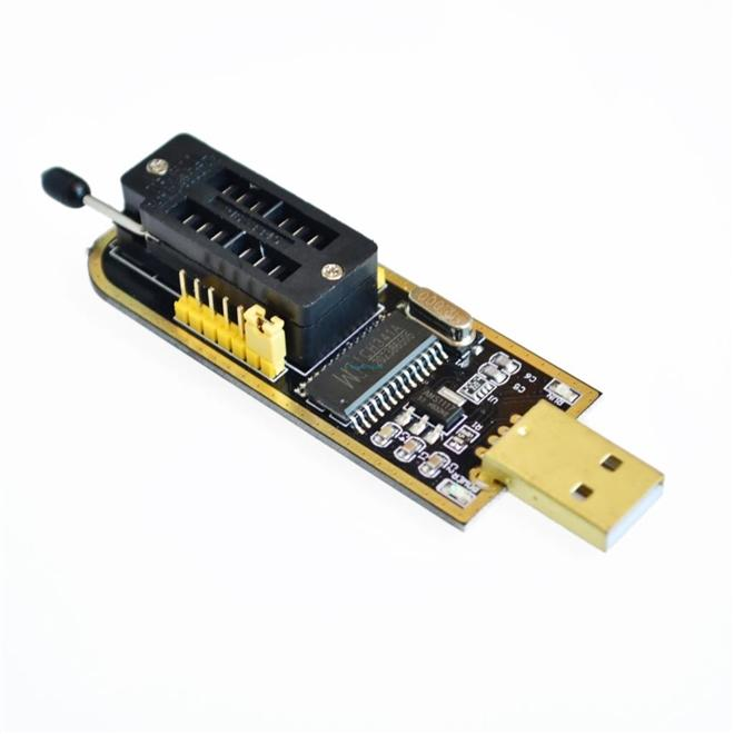 Gravador de Eeprom CH341A Flash Spi Bios