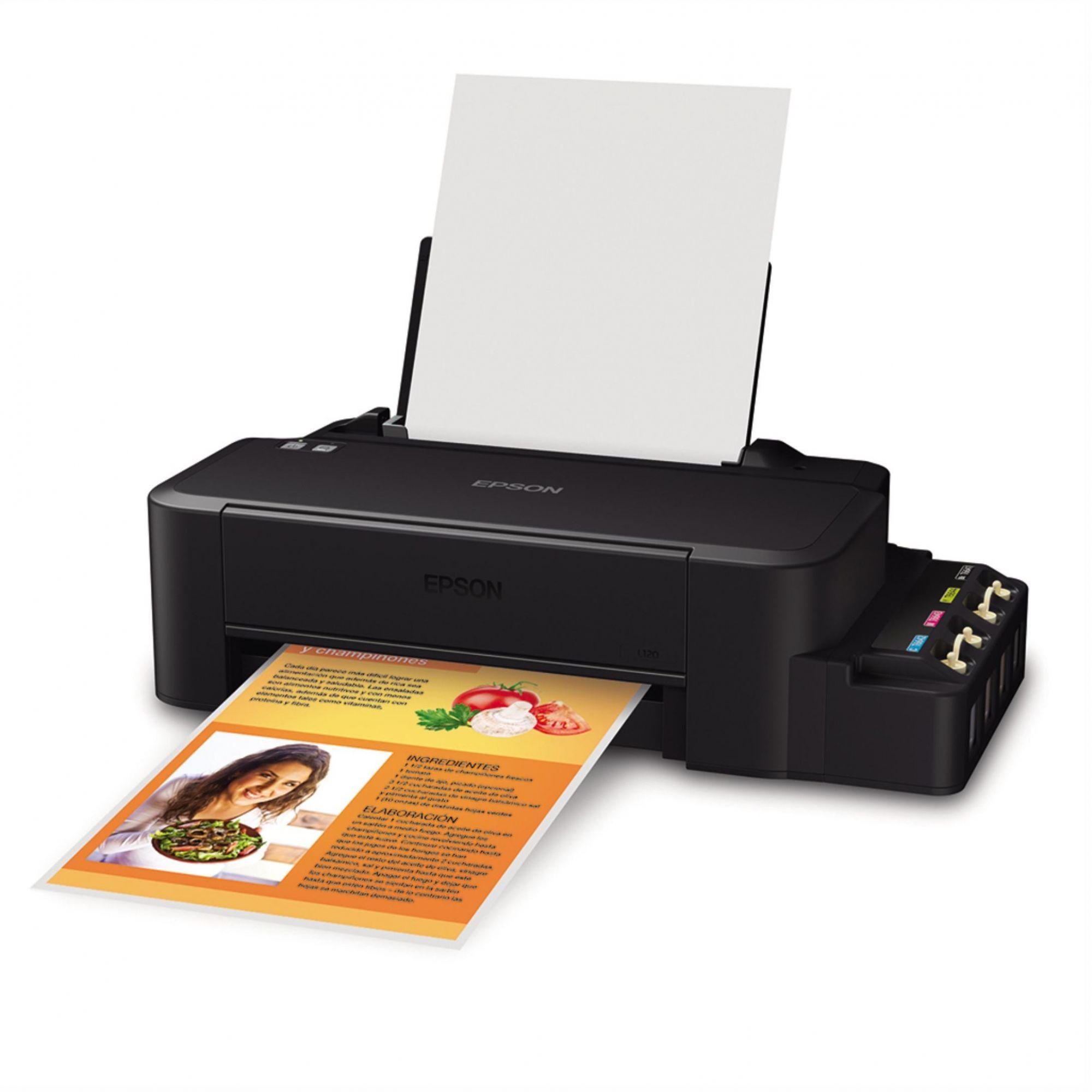 Impressora Epson L120 com Tanque de Tinta - Pigmentada