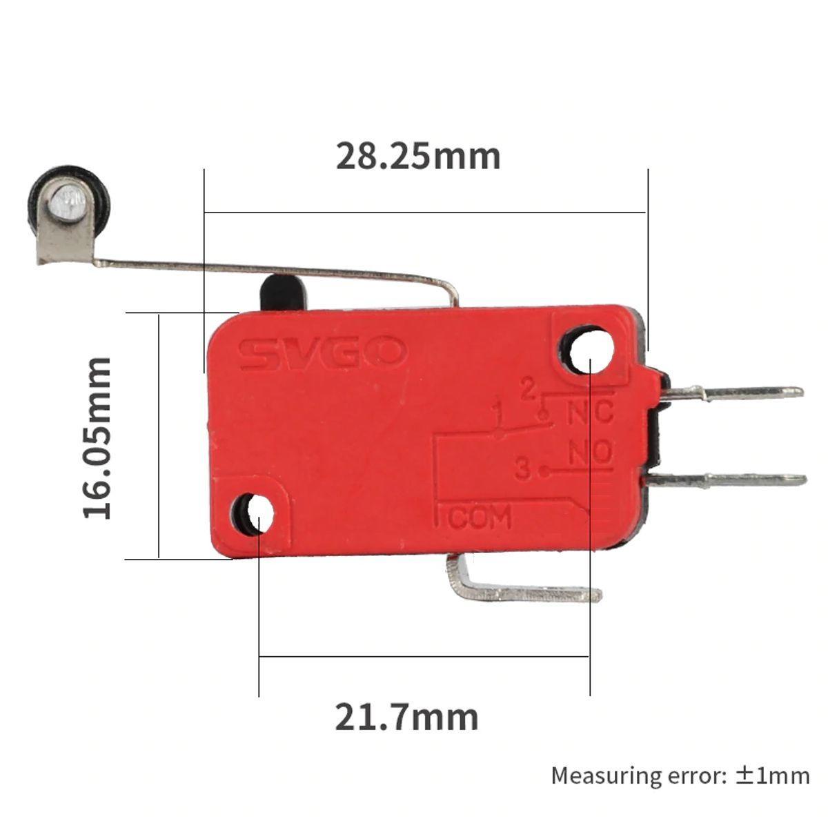Interruptor tipo Alavanca SVGO SV-166-1C25 (3~16A / 250VAC)