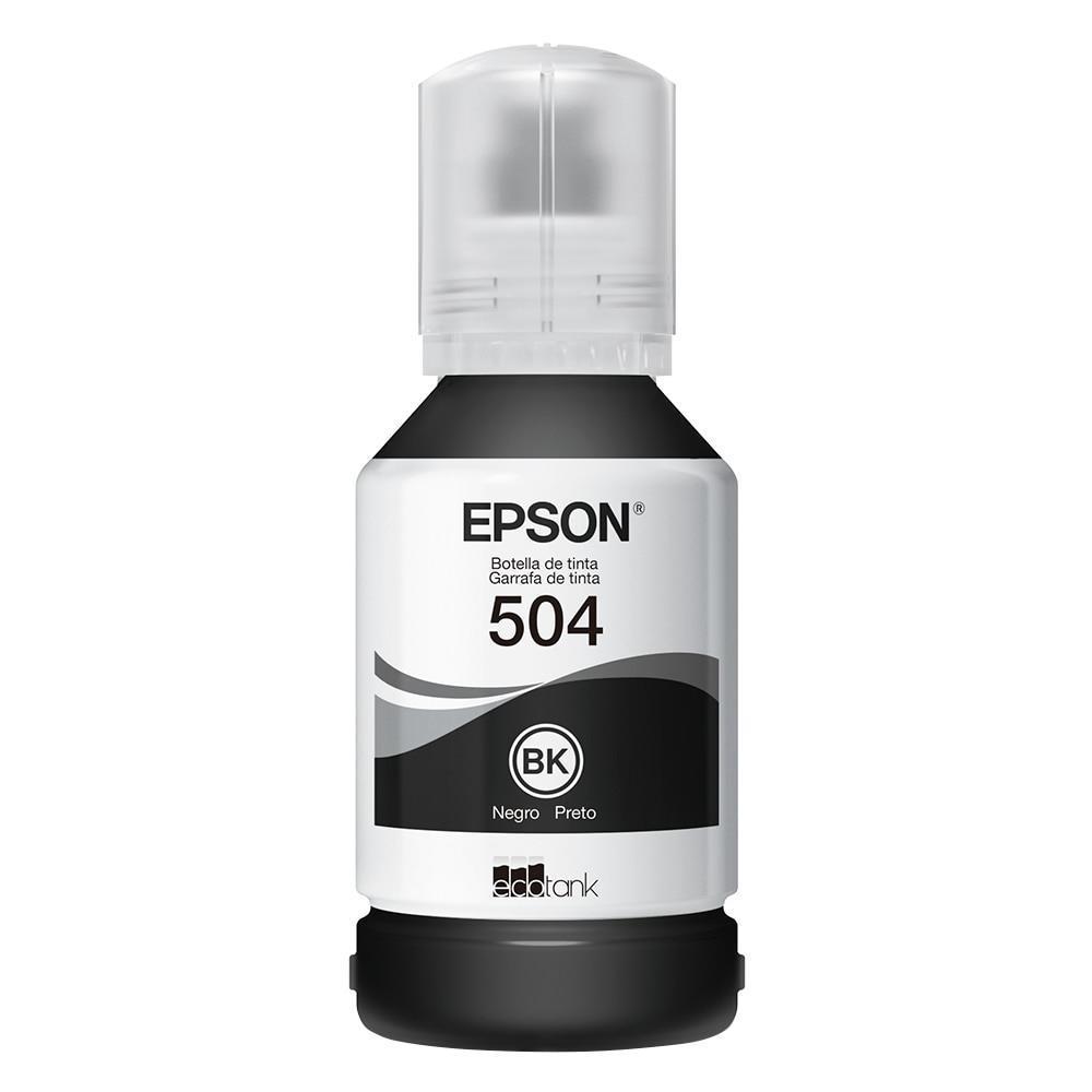 Kit Refil de Tinta Original Epson 4 Cores (504) para Epson L4150, L4160, L6161, L6171, L6191 e Similares