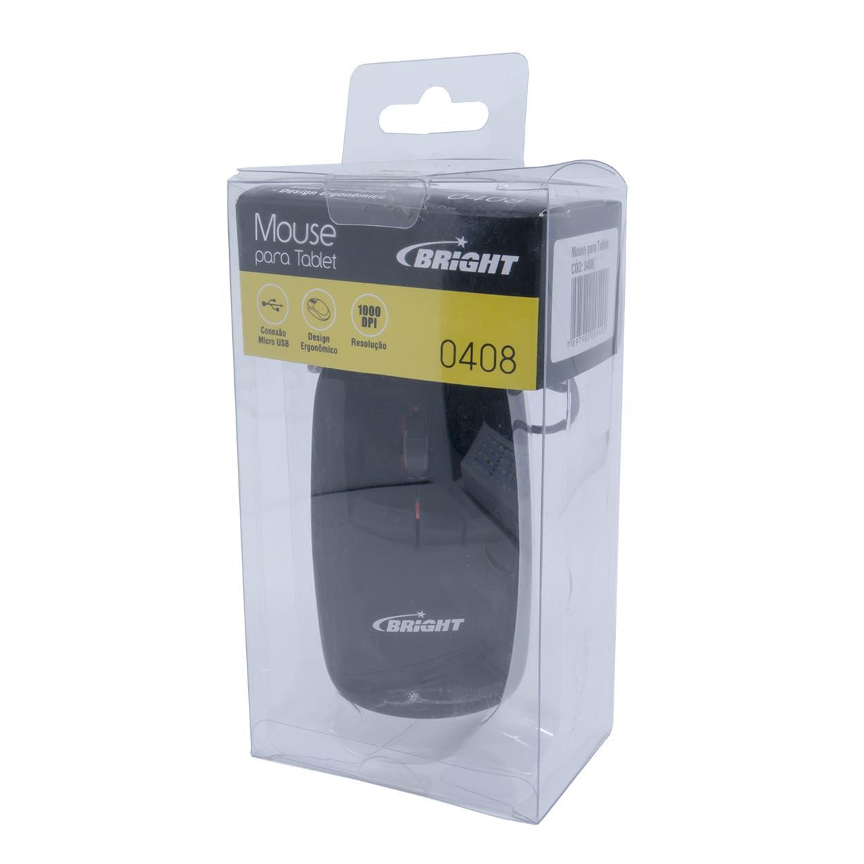 Mouse para Tablet e Smartphones com Micro USB