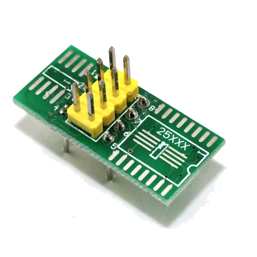 Pinça Clip para Gravador de Eeprom SOIC8 SOP8 + 2 Adaptadores