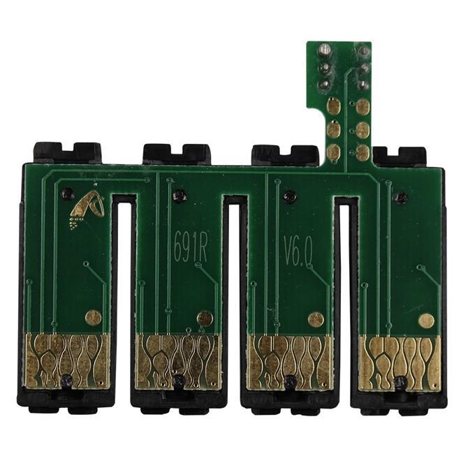 Placa Reset Chip Full para Bulk Ink EPSON CX5000, CX6000, CX7000F, CX7400, CX7450, CX8400 e CX9400F (691R) - Botão Reset