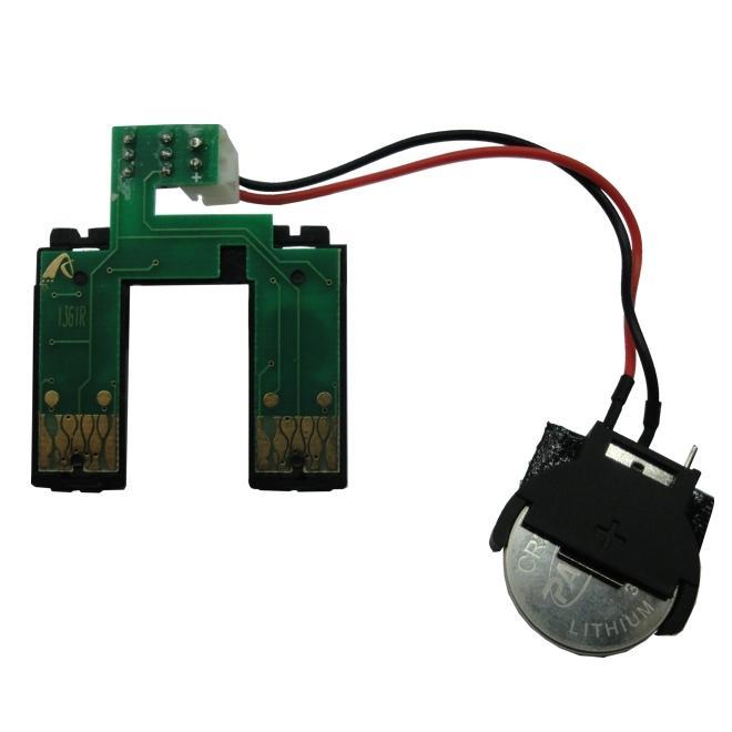 Placa Reset Chip Full para Bulk Ink EPSON K101 e K301 (T136) - Botão Reset (Com Bateria)