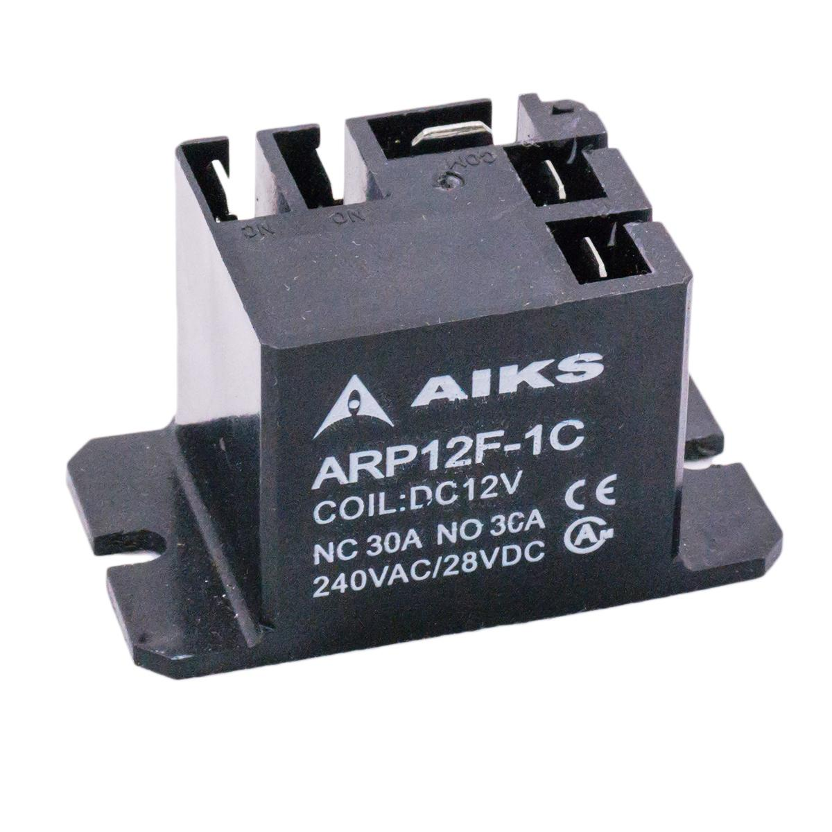 Relé AIKS ARP12F-1C - 30A - Coil: DC12V | 240VAC/28VDC