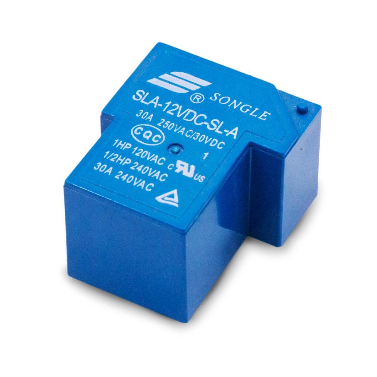 Relé Songle SLA-12VDC-SL-A | 30A - 250VSC/30VDC