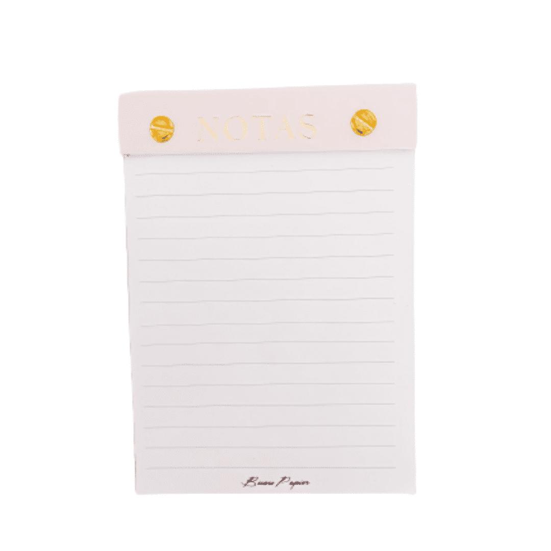 Bloco planejador - notas